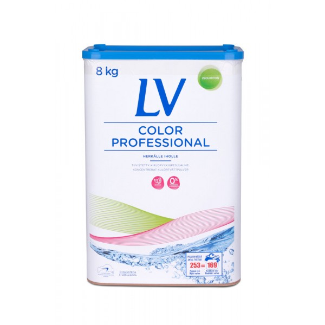 LV Color Professional pyykinpesujauhe 8 kg