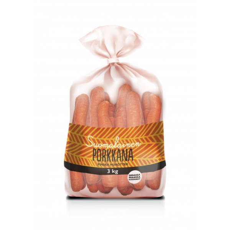Porkkana 3 kg oma maa 1200kpl